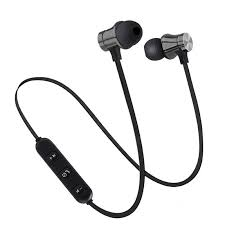 Bluetooth Magnetic <b>Wireless</b> Bluetooth Earphone Stereo Sports ...