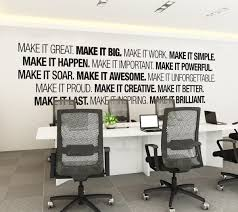 wall art for office space. Mesmerizing Wall Art Office Space Vinyl Office: Full Size For