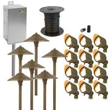 Outdoor Landscape Lighting Sets Complete High Quality And Easy To Install Includes 12