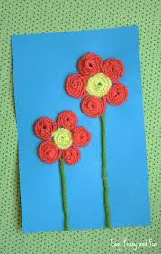 Paper Flower Crafts For Kindergarten Flower Crafts For Preers Paper Flowers Healthy