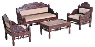 wooden sofa set teak wood sofa set india