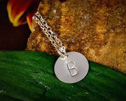 details about new initial monogram pendant tiny dainty sterling silver customized necklace