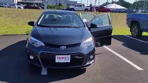 2016 Toyota Corolla S special edition review - YouTube