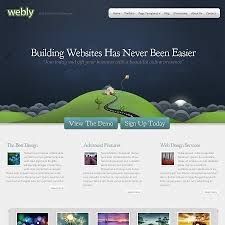 Small Picture Creative Business and Portfolio WordPress Theme Webly