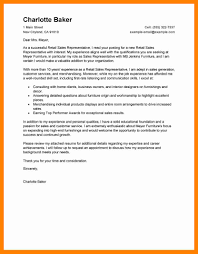 Sample Cover Letter For Sales Representative. cover letter mba ...