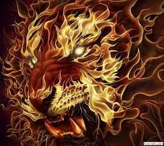 Flame Tiger Wallpapers - Top Free Flame ...