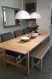 Round Dining Table With Bench Seating Dining Room Comfortable Small Dining Space Furnitures Gray Smooth