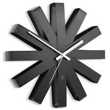 <b>Часы настенные Umbra Ribbon</b> чёрныe — купить в интернет ...
