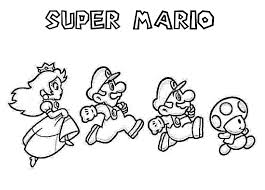 Small Picture Nintendo Coloring Pages For Kids Home diaetme