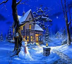 Free download Christmas Night Wallpaper ...