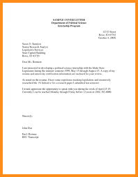 14 Who To Write A Application Of Internship Marvellous Cover Letter