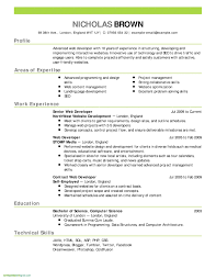 Resume Format Free Download In Ms Word 2010 Best Resume Template