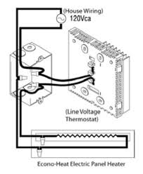 econo heaters warmth, comfort & amazing value that's the new Old Honeywell Thermostat Wiring Diagram at Line Voltage Thermostat Wiring Diagram