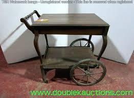 wood tea cart vintage needs a little rolls n wheels wood tea cart antique