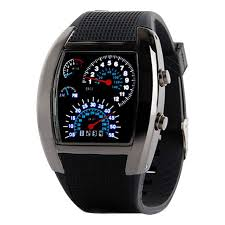 mens aviator watches promotion shop for promotional mens aviator 1 pc fashion aviation turbo dial flash led watch gift men sports wathes