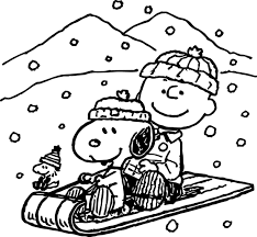 Small Picture Coloring Pages Kids Snoopy Winter Coloring Page Snoopy Coloring