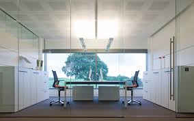 glass walls office. Glass Wall Office Option - 2 Walls