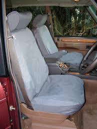 range rover classic 4 door front waterproof grey seat cover set da2803grey