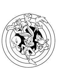 Small Picture Looney Tunes the Series Coloring Pages Bulk Color