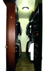 deep narrow closet ideas sliding door track