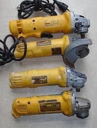 dewalt grinder 4 1 2. lot of (4) dewalt 4 1/2 inch angle grinder cord dwe402 dwe4011 1 2