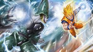 Wallpaper Goku, Dragon Ball Z, Cell ...