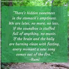 Fasting Quotes Classy LA Quaker The Joy Of Fasting According To Rumi