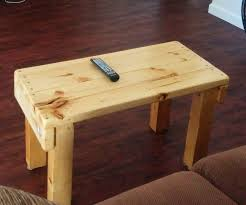 build a coffee table tv stand with reclaimed wood 6 steps