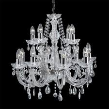 399 12 marie therese 12 light chandelier polished chrome
