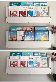 white distressed wood bookshelves set