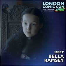 Hours after we initially published this post, it was. Bella Ramsey Is Joining Us At London London Comic Con Spring Facebook
