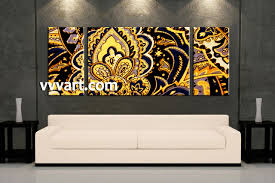 cool wide wall art canvas painting modern abstract 72 x 36 d cor one piece large artwork decor by largeartwork metal thin on 72 wide wall art with cheerful wide wall art 3 piece canvas yellow abstract decor living