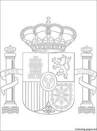 Small Picture Spain coat of arms coloring page Coloring pages