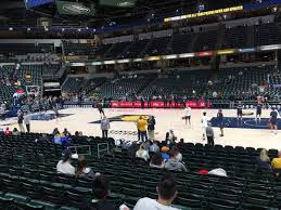 Pacers Game Seating Chart Bankers Life Fieldhouse Section 15 Row 16 Seat 9 Indiana