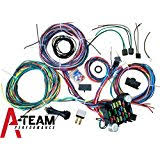 amazon com ez wiring mini 20 21 circuit wiring harness automotive a team performance 21 standard circuit universal wiring harness muscle car hot rod street rod