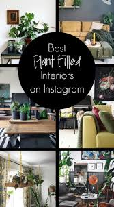 My Favorite Plant Filled Interiors On Instagram - Clever Bloom