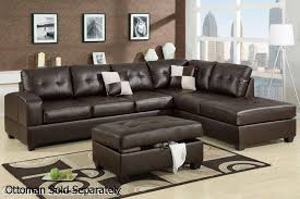brown leather sectional sofas. Interesting Brown Reese Brown Leather Sectional Sofa To Sofas N