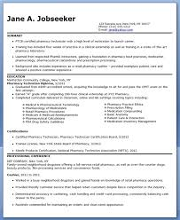 Pharmacy Technician Resume Sample (No Experience)
