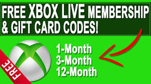 free xbox live gold how to get codes 2017 you