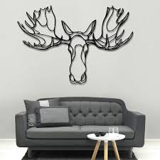 Small Picture Moose Head Wooden Wall Art designer wood wall decor