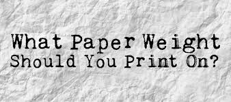 What Paper Weight Should You Print On Alexanders Print