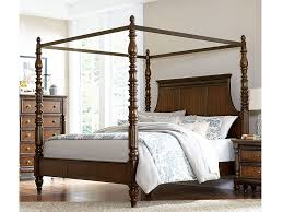 Verlyn Cherry Queen Canopy Bed - Shop for Affordable Home Furniture ...