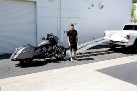 Motorcycle Loading Ramp, How to Load a Motorcycle into a Truck | Baggers