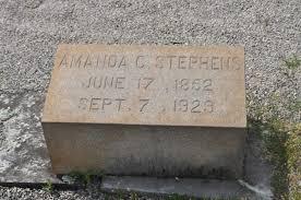 "Amanda Catherine ""Mandy"" Garmon Stephens (1852-1929) - Find A Grave Memorial"