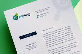 3d Letterhead Design Clean Letterhead Design Corporate Identity Template