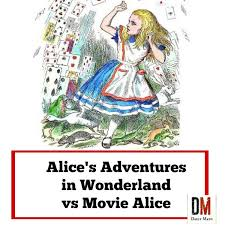 alice s adventures in wonderland vs alice in wonderland movie  love alice in wonderland then you won t want to miss this comparison between
