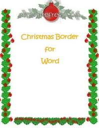 Holiday Borders For Word Documents Free Free Holiday Border Templates Microsoft Word Barca