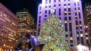 Holidays in New York City, Rockefeller Center Christmas Tree, O Holy Night  - YouTube