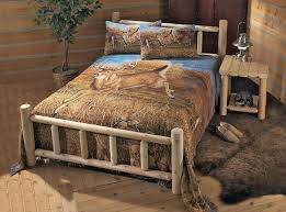 Log Bedroom Furniture Log Bedroom Furniture Cedar Log Bed Kits Bunk Bed Log Bed Kits