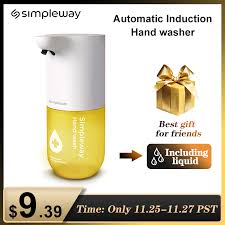 <b>Simpleway 300ml Automatic Induction</b> Hand Soap Dispenser 0.25s ...